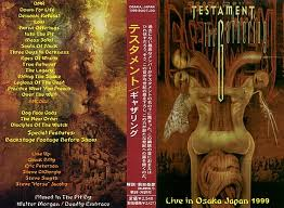 "Testament ""Live in Osaka, Japan"""