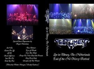 """Testament """"Live in Tilburg, NL"""""""